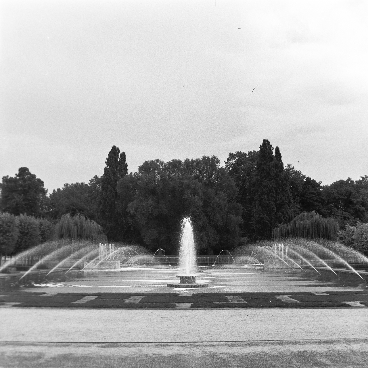 Fountain at Battersea park