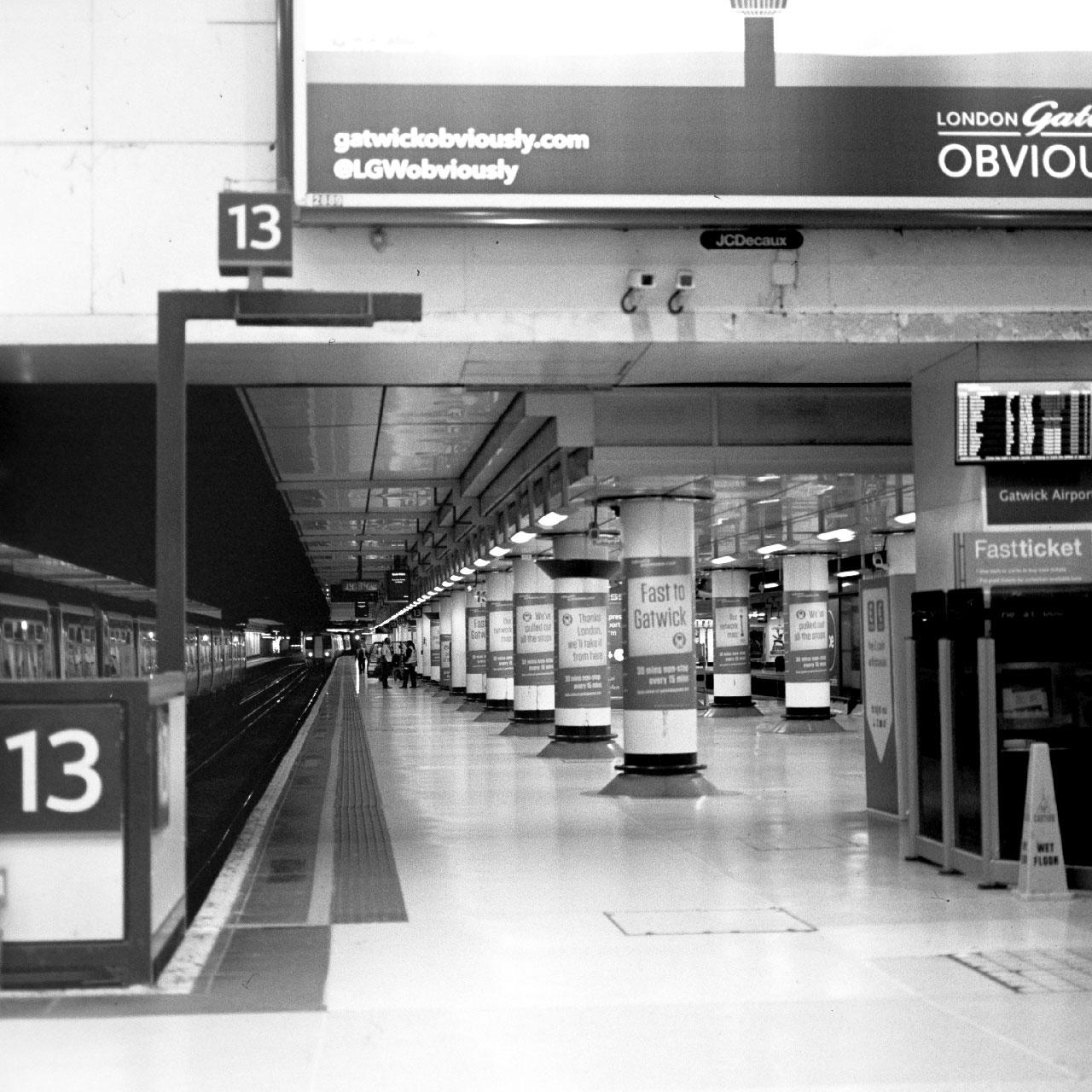 Platform 13, Victoria station