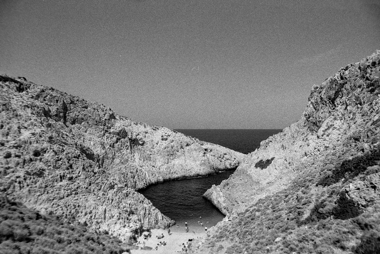 Seitan limania, Crete
