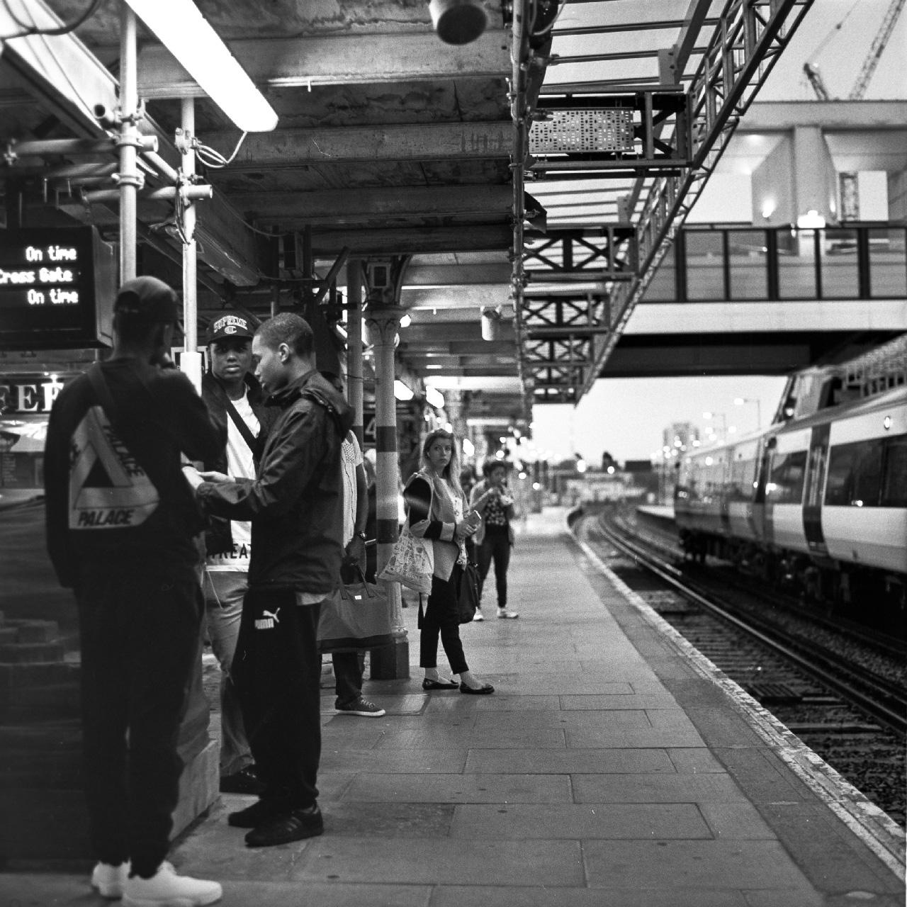 Train station somewhere