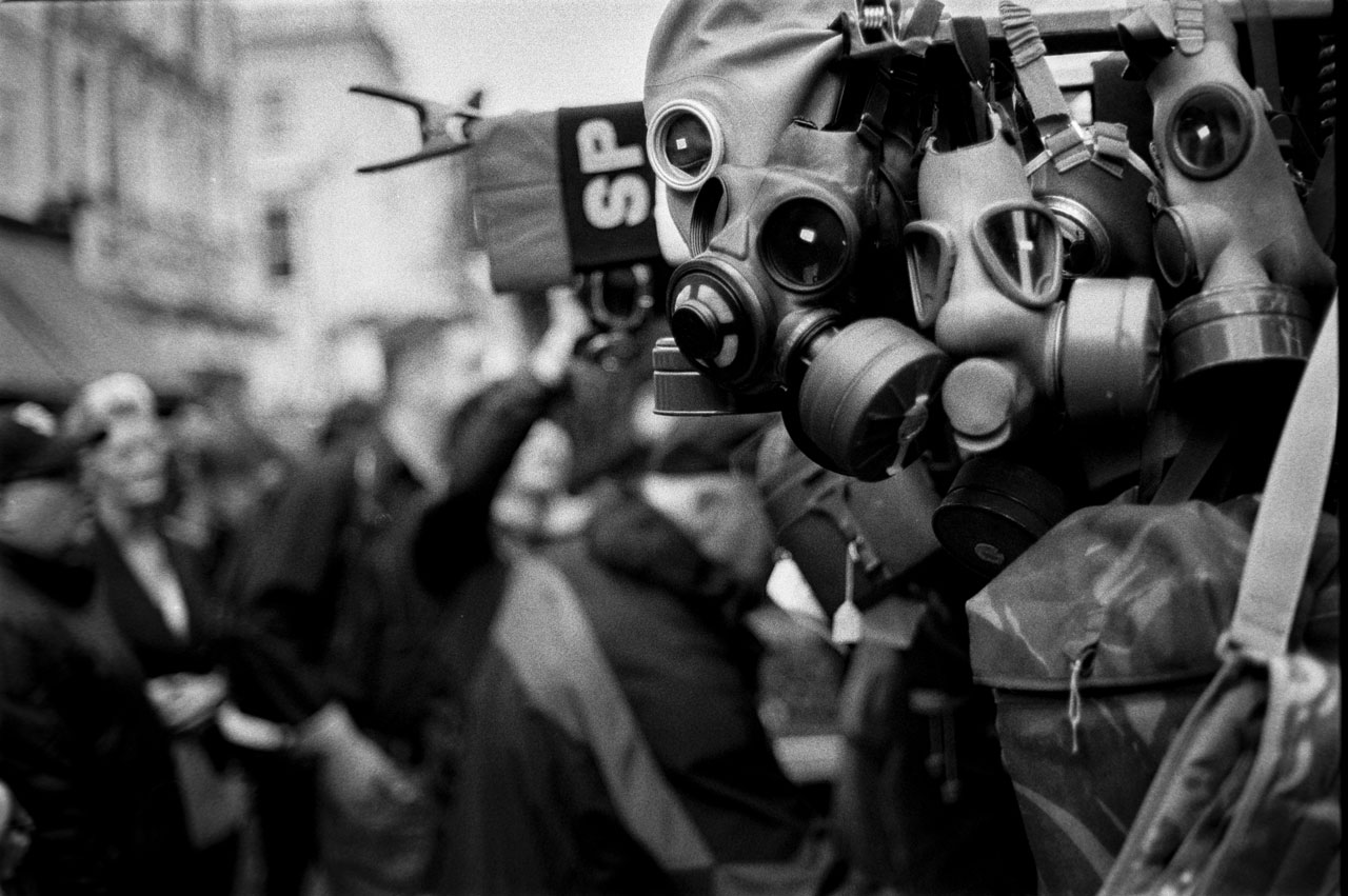Gas masks on sale