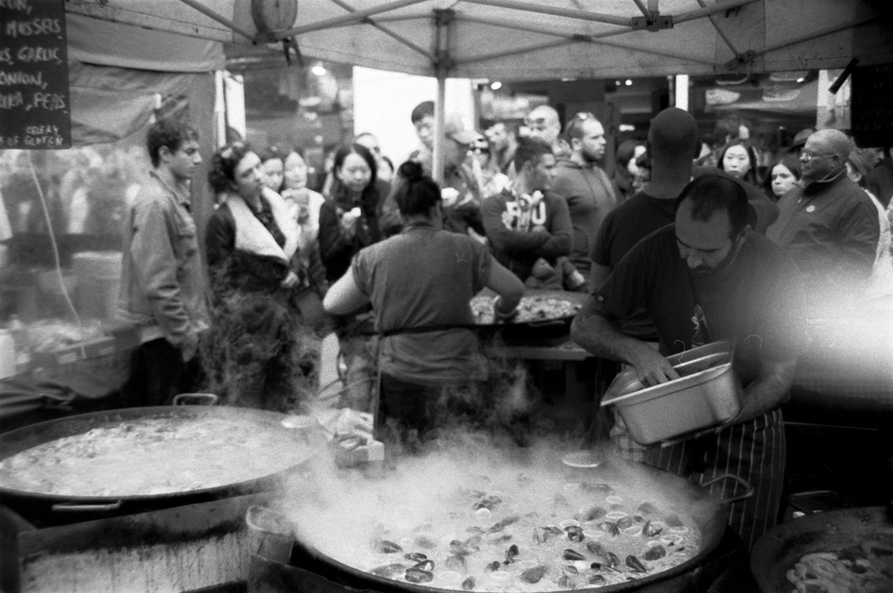 Seafood stall centon