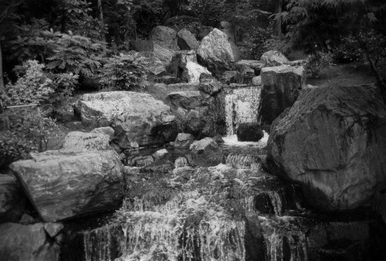 Waterfalls holland park