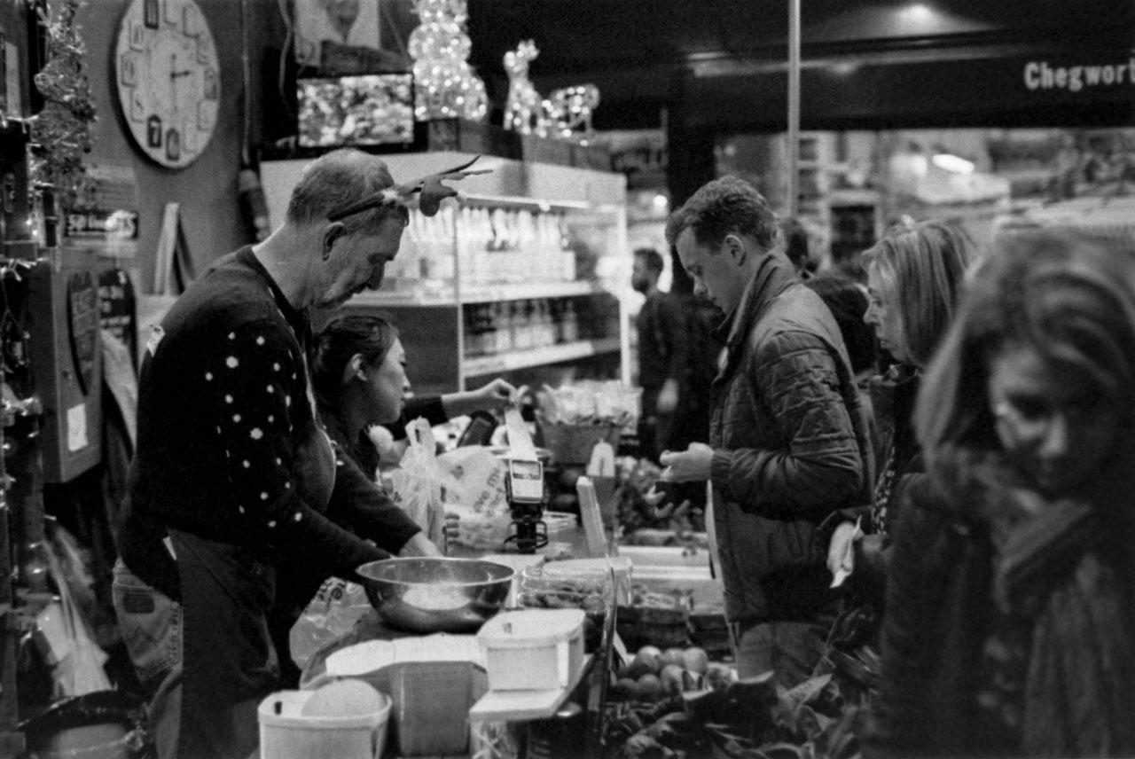 Reindeer market man