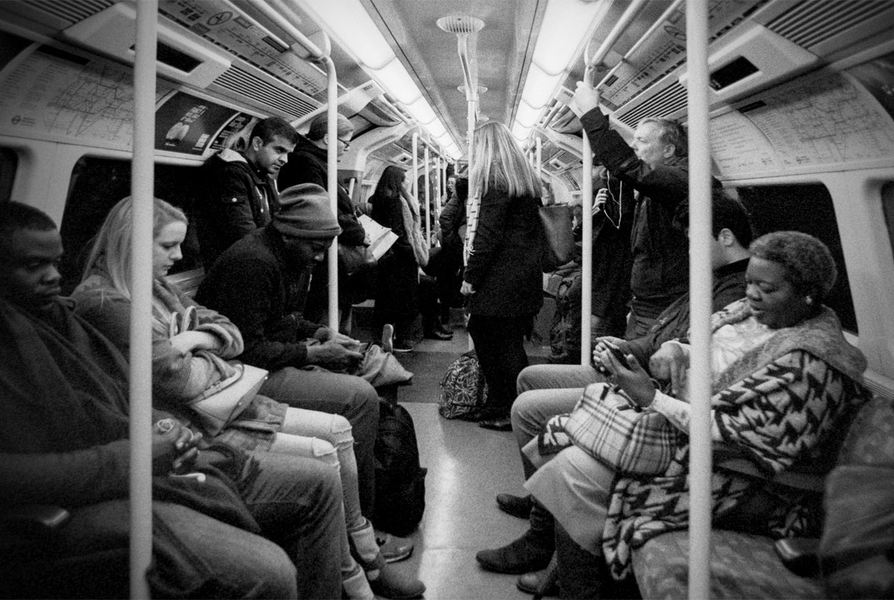 Tube ride evening